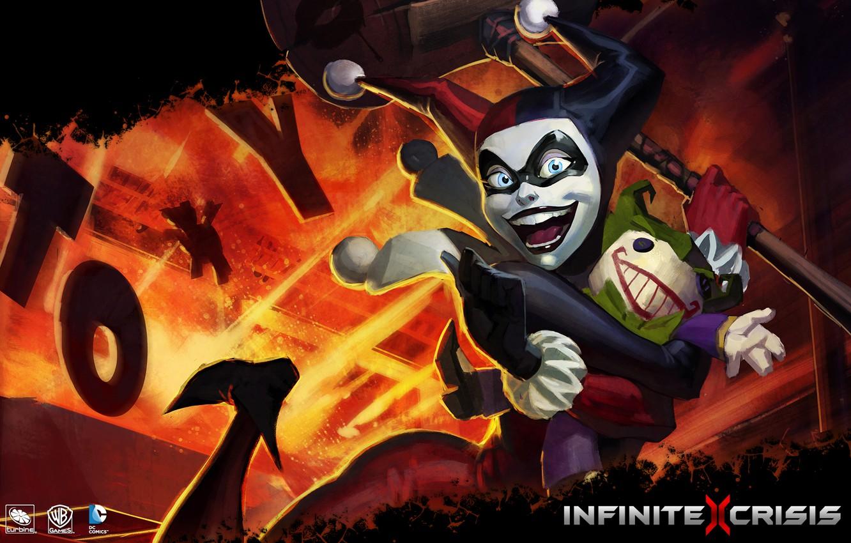 Wallpaper mmorpg DC Comics Harley Quinn infinite crisis Warner 1332x850