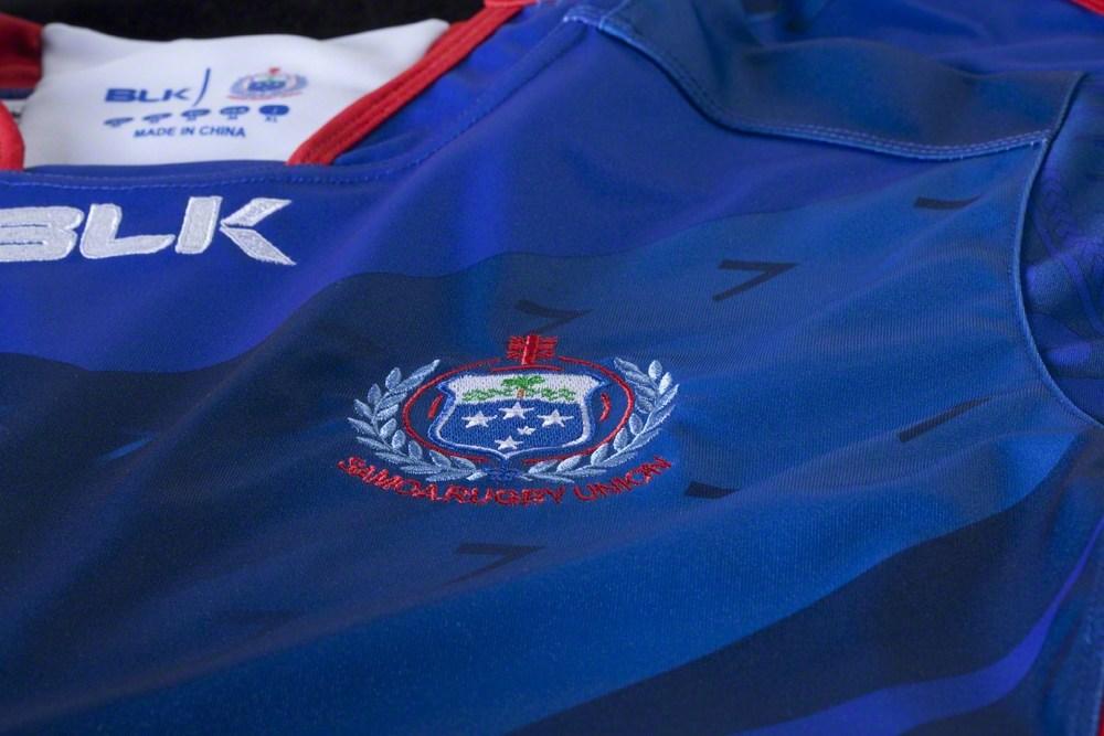 Manu Samoa 2015 Rugby World Cup BLK Home and Away Jersey Kit Shirt 1000x667