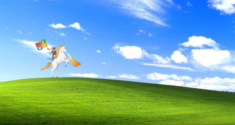 Microsofts ninja cat unicorn graphic has become a web sensation 760x405
