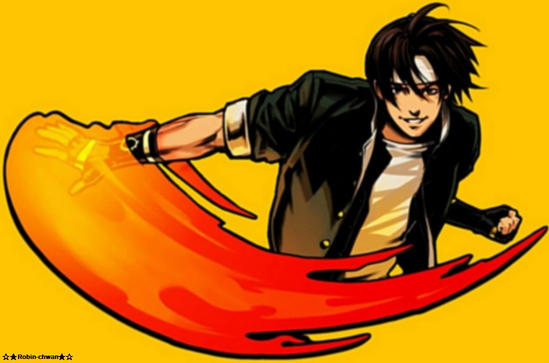 Kyo Kusanagi King of Fighters by Robin chwan 1100x728