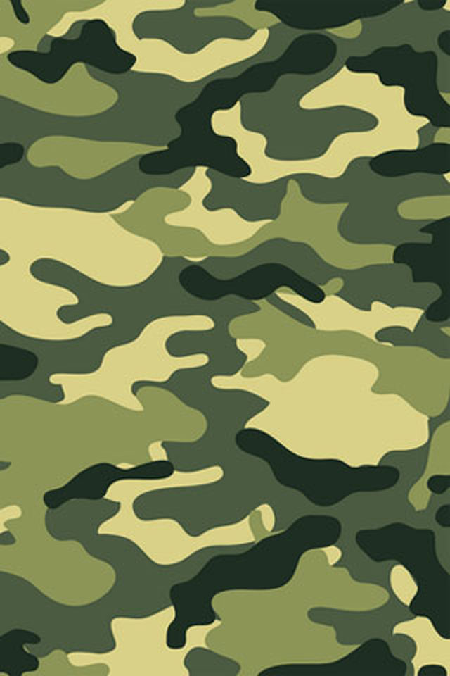 jungle camouflage iphone wallpaper background and theme 640x960