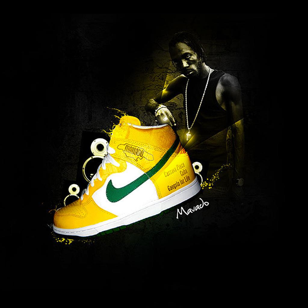 Nike ipad wallpaper wallpapersafari - Cool shoe wallpapers ...