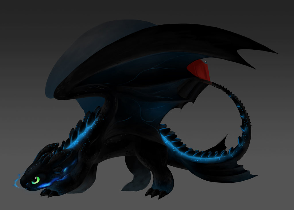 Toothless the Alpha by Aritimas 1024x731