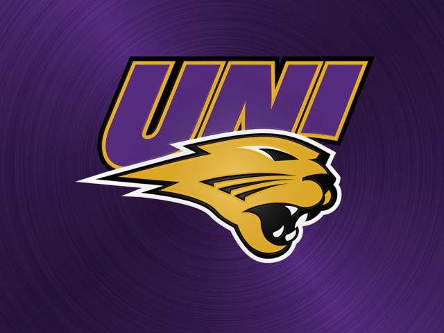 University of Northern Iowa Panthers Logo Wallpapers all monitor 640x480