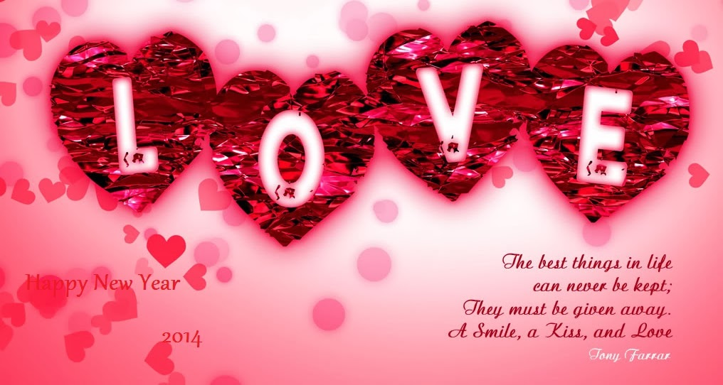 Sorry New Year Messages   Beautiful Wallpaper Of Love With Quotes 1016x542