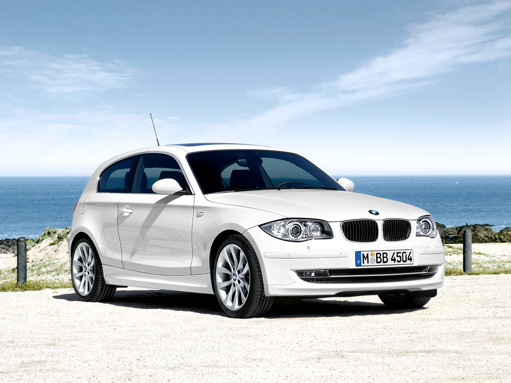 minimalist car design BMW 1 Series 3 door wallpaper 1024x768