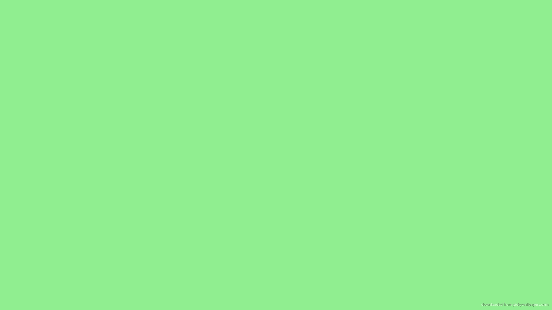 Solid Light Green Color Wallpaper Picture For iPhone Blackberry iPad 1920x1080