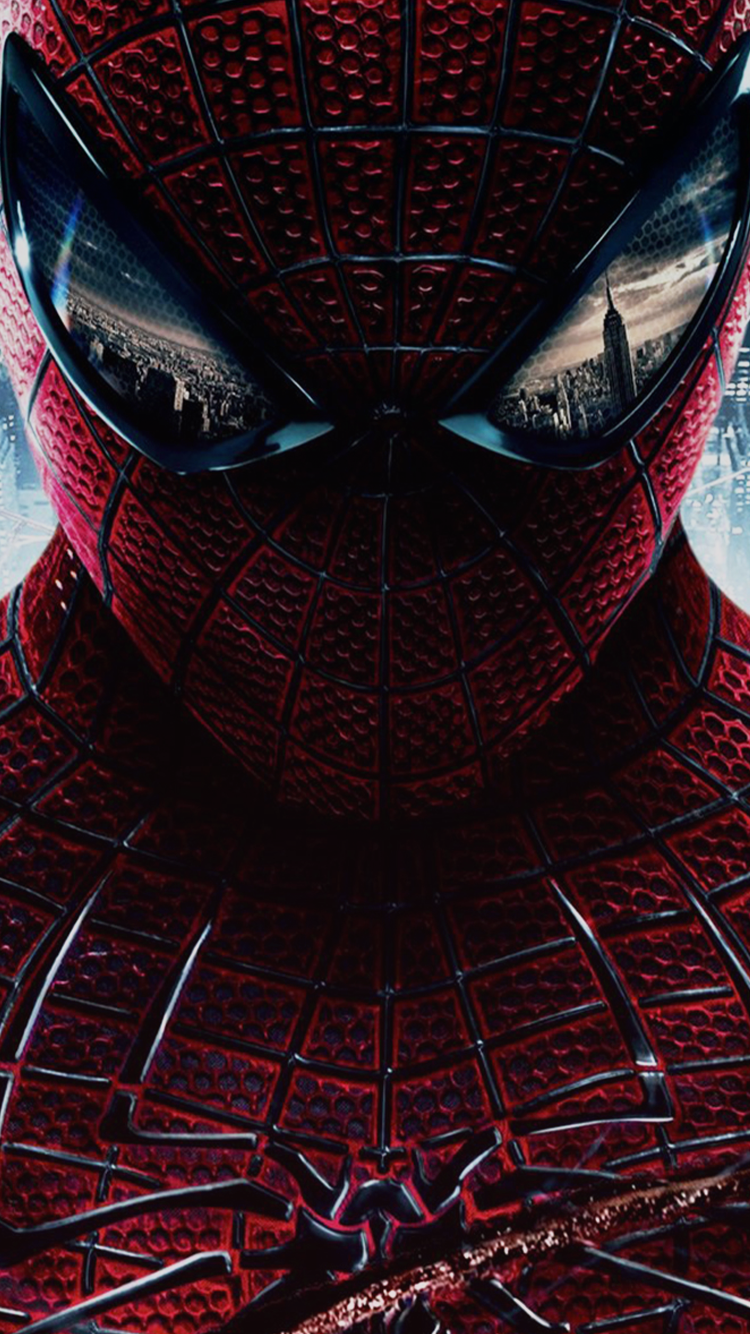 Amazing Iphone 6 Wallpaper Spiderman Logo In Chest   Amazing 750x1334