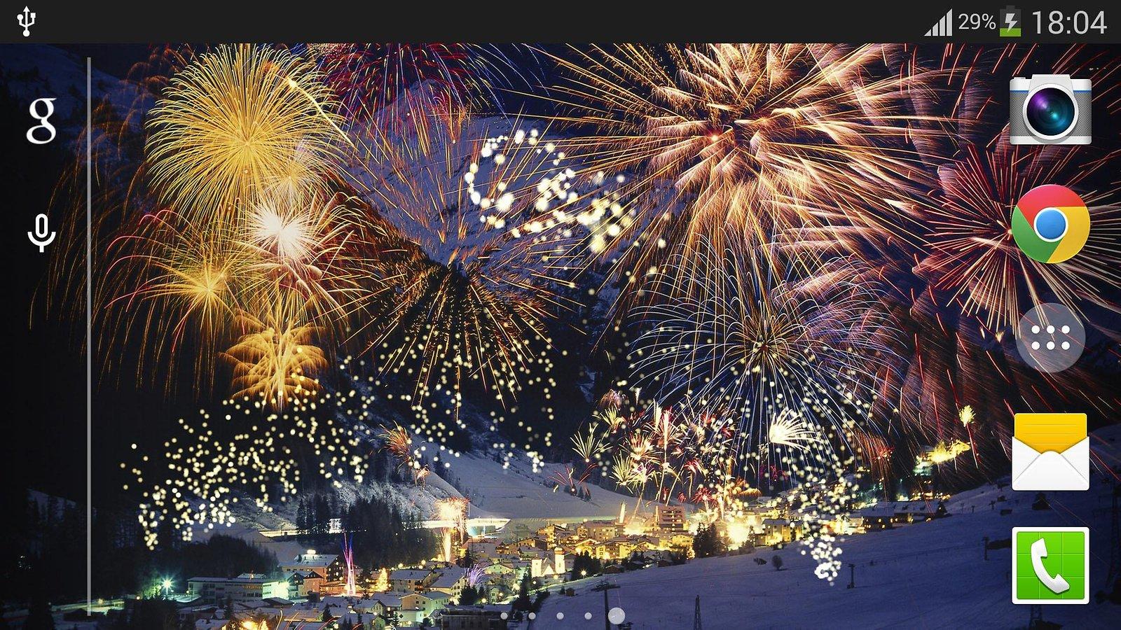 Fireworks Live Wallpaper - WallpaperSafari