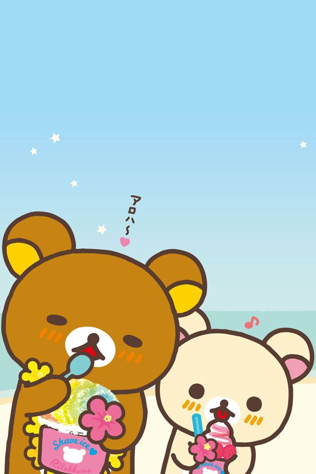 more adorable wallpapers iphone wallpapers rilakkuma iphone kawaii 640x960