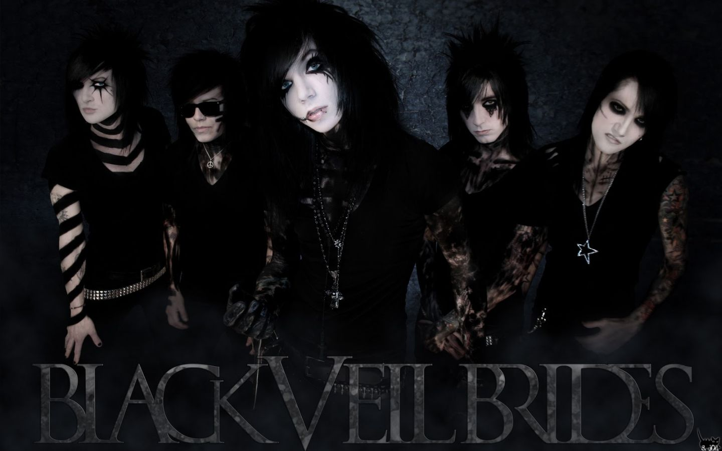 Black Veil Brides Hd Wallpaper Peinture 1440x900