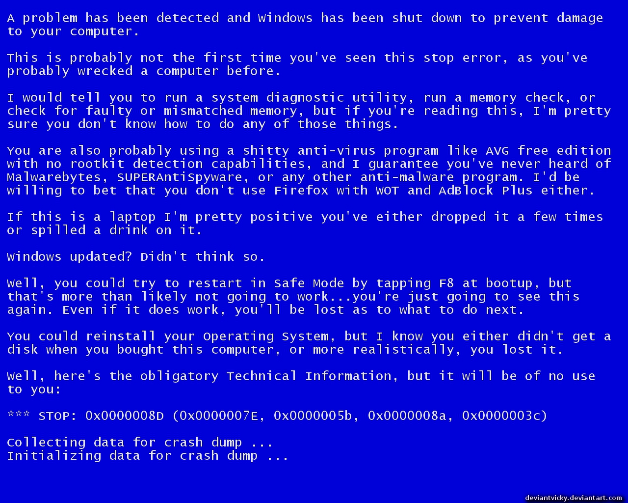 Blue Screen of Death Problems   Westford Computer Services 1280x1024