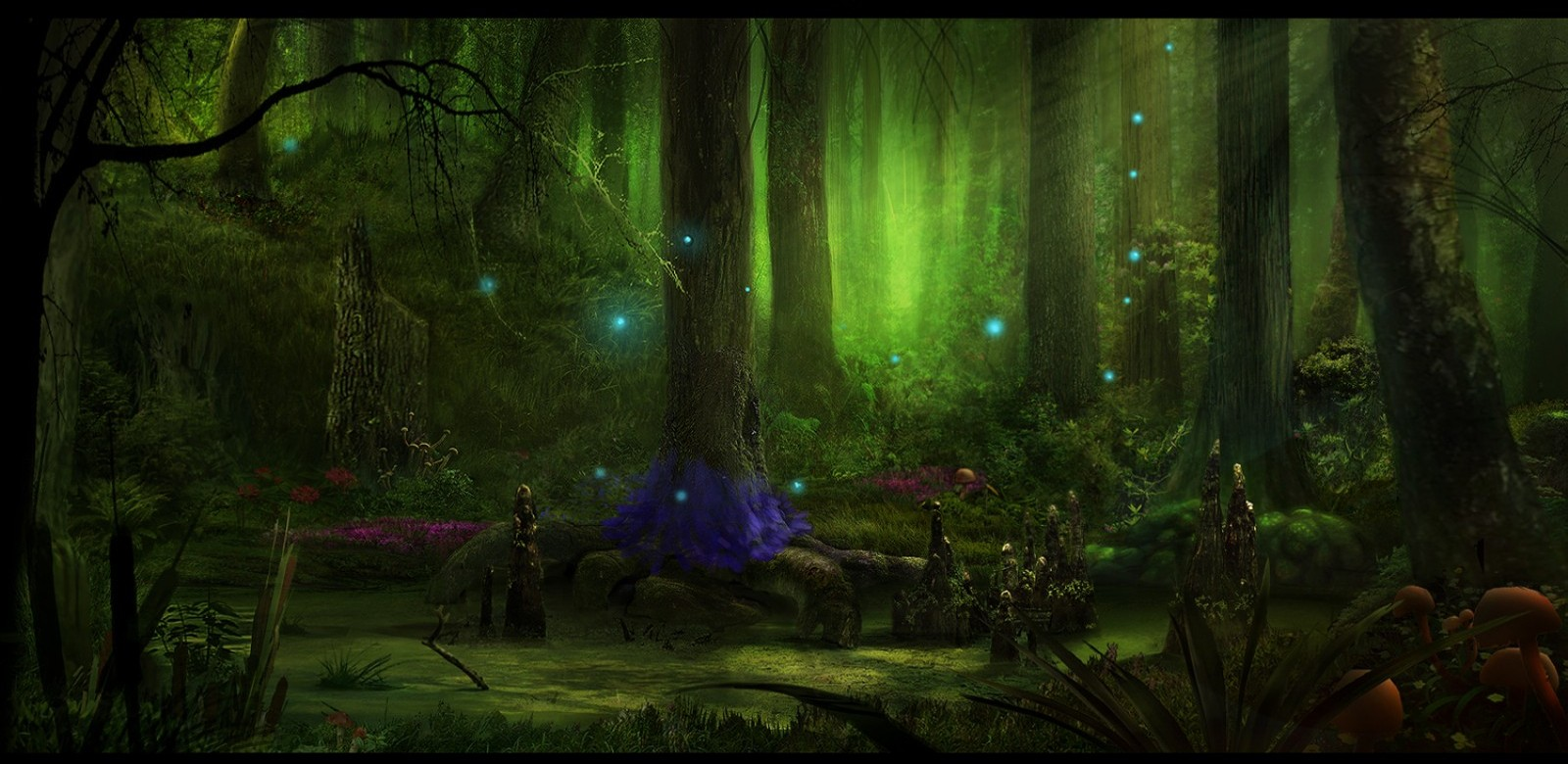 Fairy Tale Background Wallpaper 1600x780