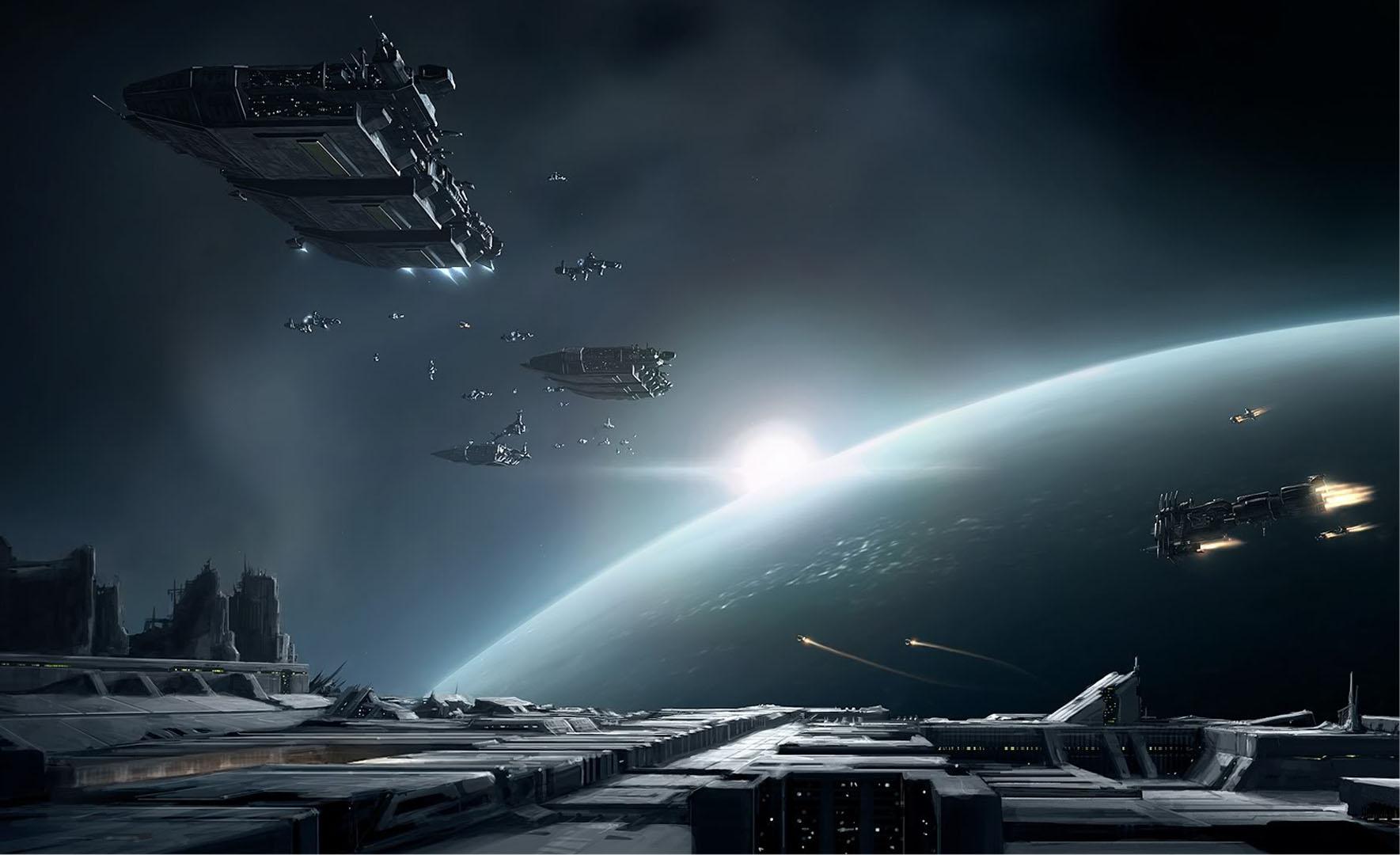 Space Armada At Event Horizon   Eve Online Wallpaper 1769x1080