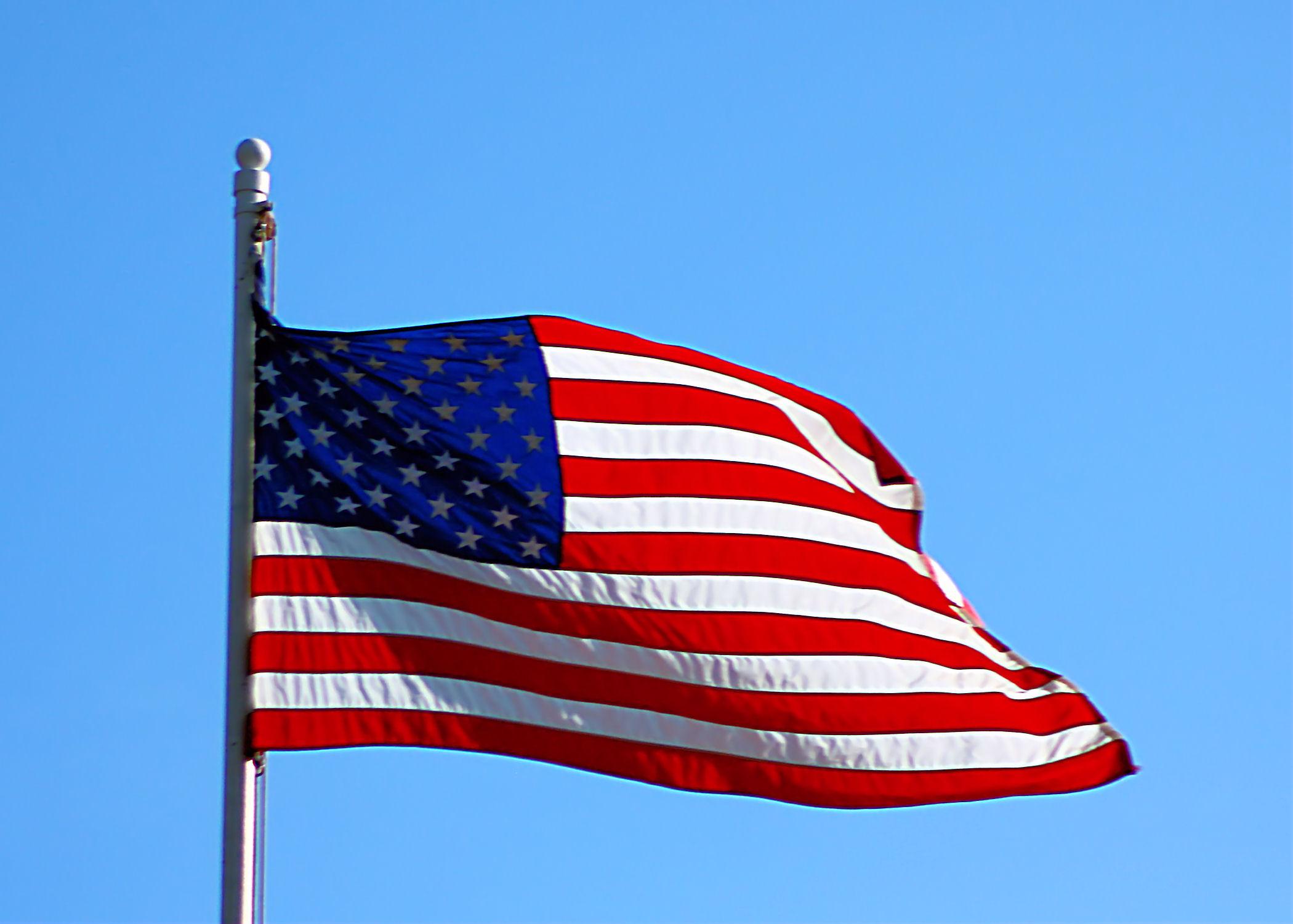 High Resolution American Flag Wallpaper Wallpapersafari