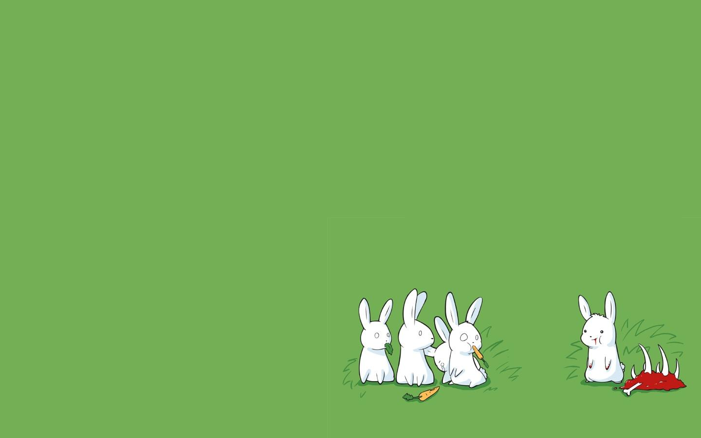 Happy bunny wallpapers   Wallpaper Bit 1440x900