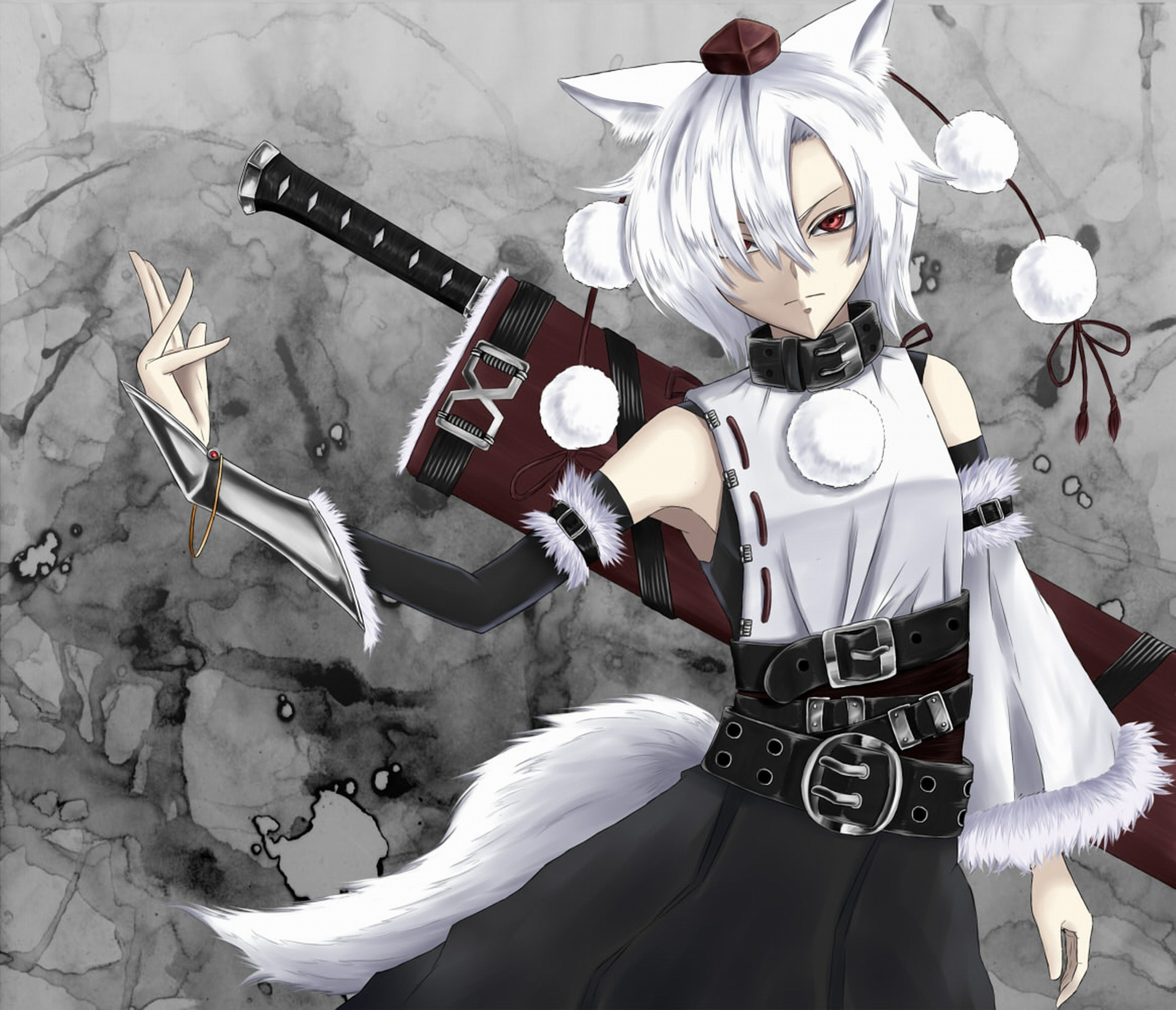 Wolves Girls And Wolf Girl: Anime Wolf Girl Wallpaper
