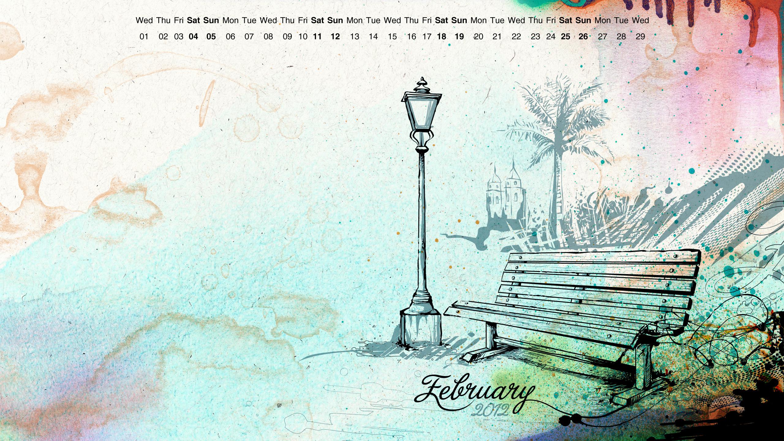 February Wallpaper February wallpaper by reiiz 2560x1440