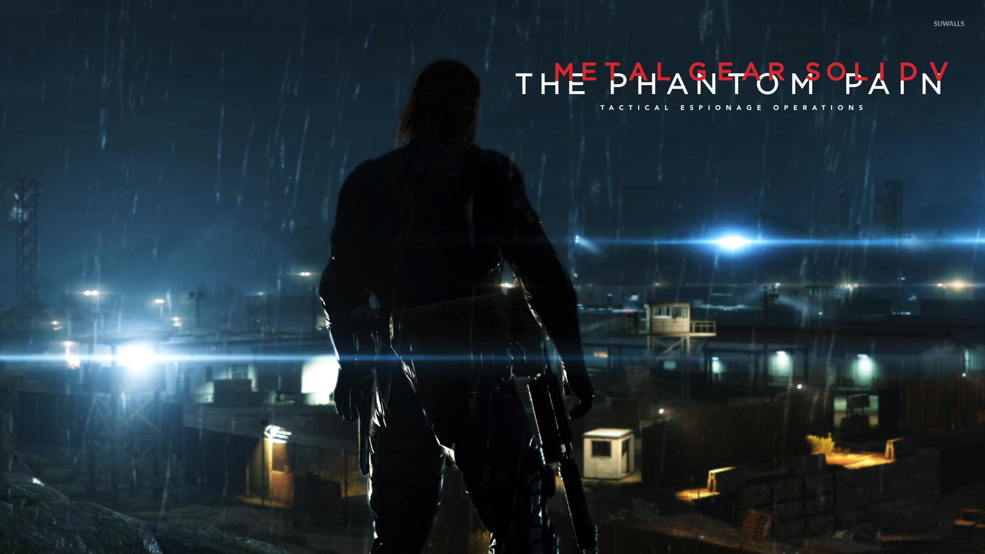 Metal Gear Solid Ground Zeroes Video Game 4k Hd Desktop: Big Boss Phantom Pain Wallpaper
