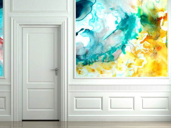 Interior Design Unique Wall Art 600x450