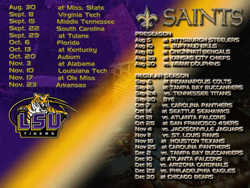 SaintsLSU wallpapers   New Orleans Saints   Saints Report   Message 800x600