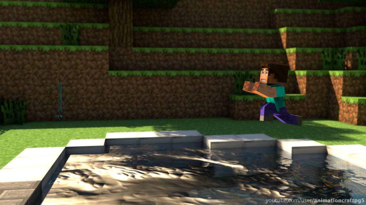 Epic Pool Jump   Minecraft Gallery Wallpaper 31059087 1280x720
