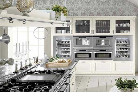 Modern Farmhouse Kitchen Design Ideas by Minacciolo Interior Fans 570x380