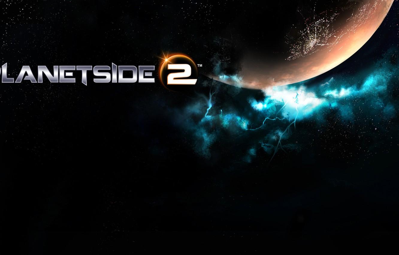 Wallpaper wallpaper logo gaming 2013 PlanetSide 2 images for 1332x850