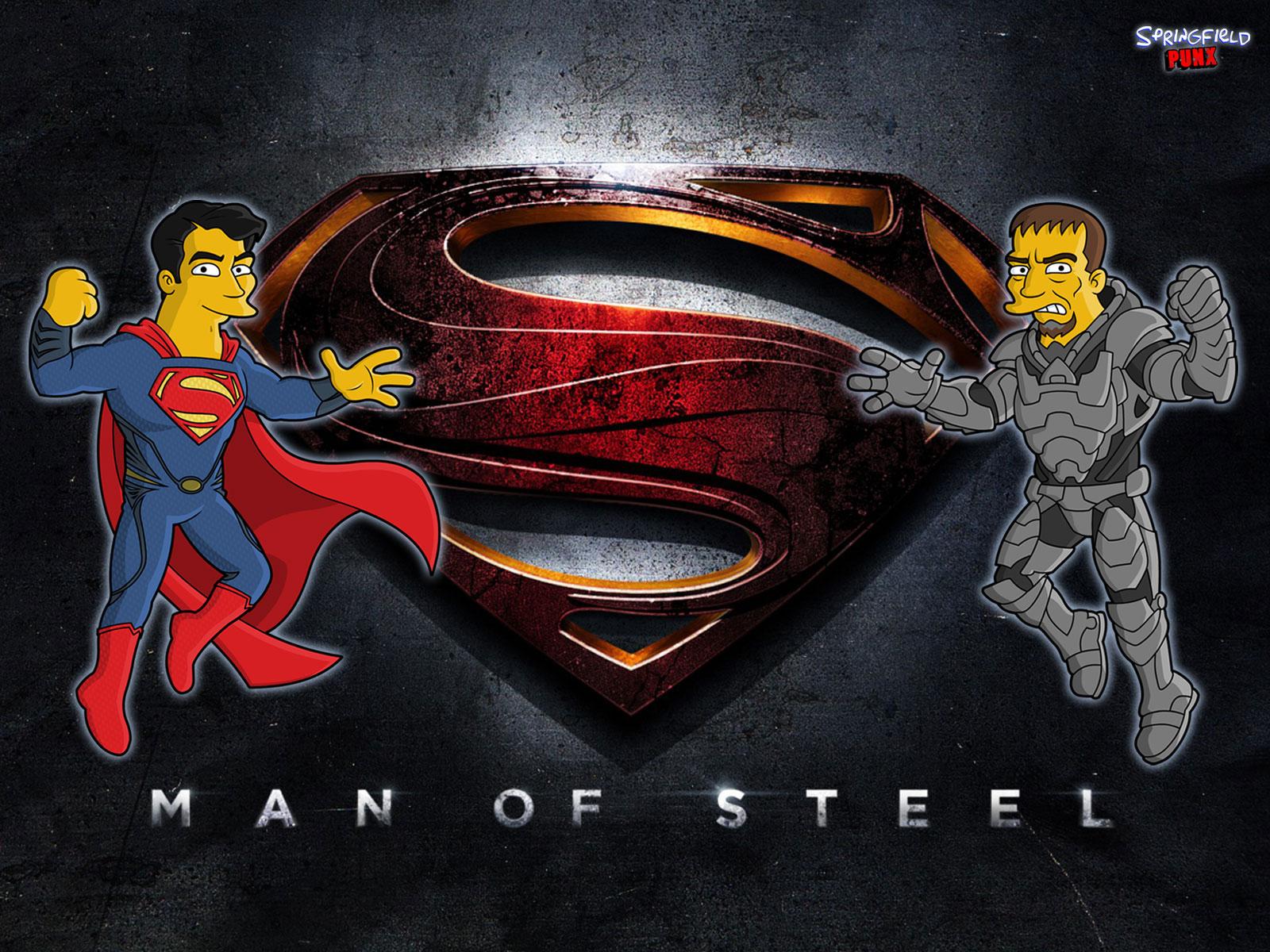 Springfield Punx Man of Steel Wallpaper 1600x1200