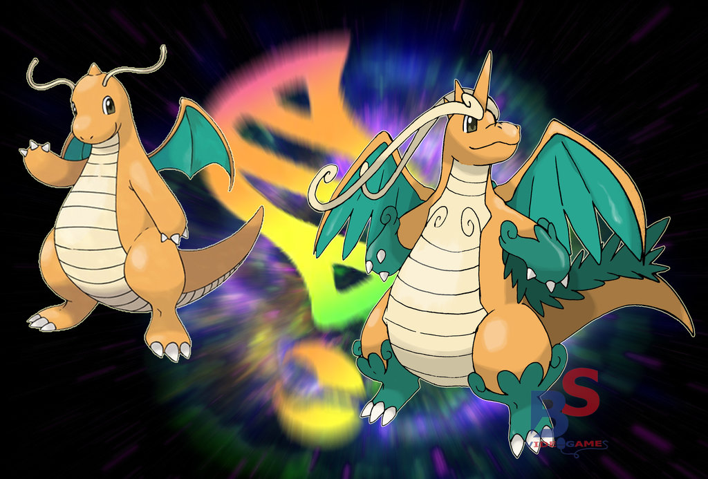 Free download Mega DRAGONITE [Fan Art] pokemon [1024x693