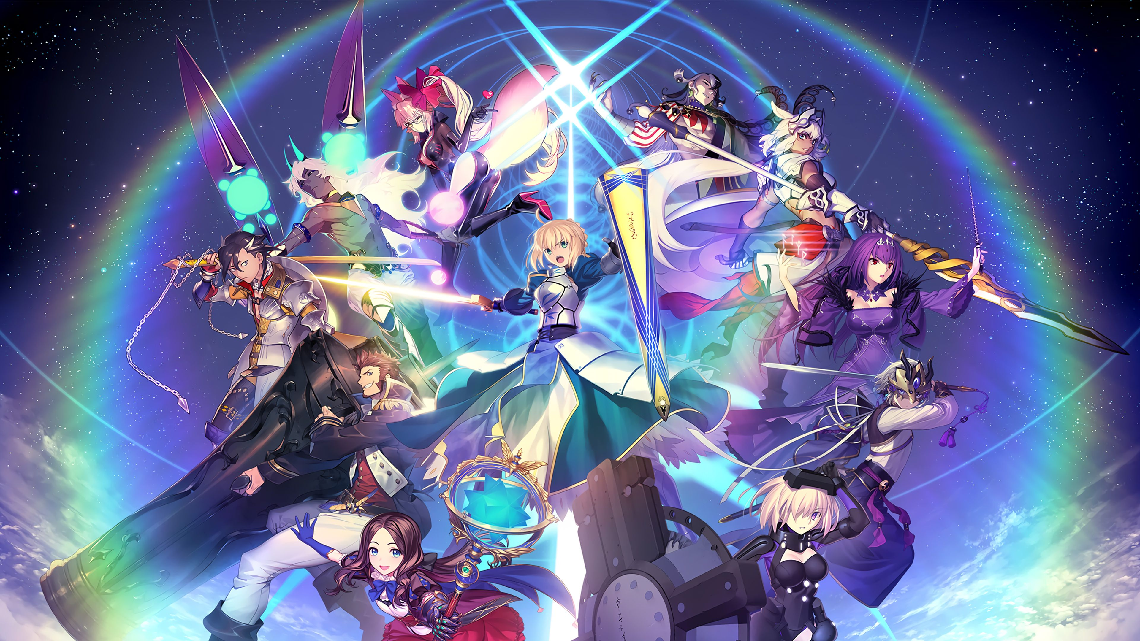 FateGrand Order Wallpapers   Top FateGrand Order 3840x2160