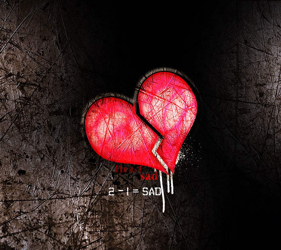 Broken Heart Sad Quotes With Wallpapers Images Hd 2016: [74+] Broken Heart Wallpaper Love On WallpaperSafari