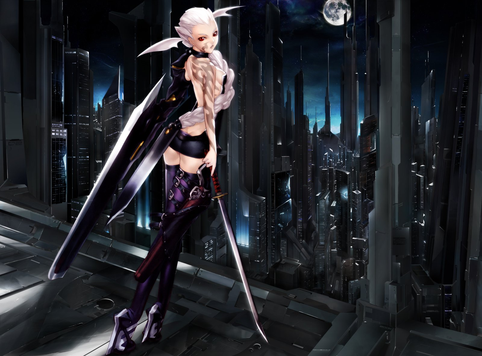 Animeted wallpaper of angel sex with demon sexy movies