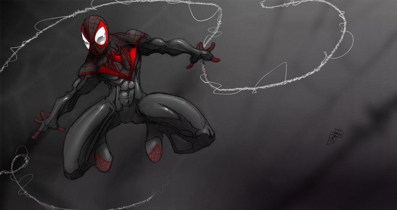 Ultimate Spiderman wallpaper by RDOWN 1227x651