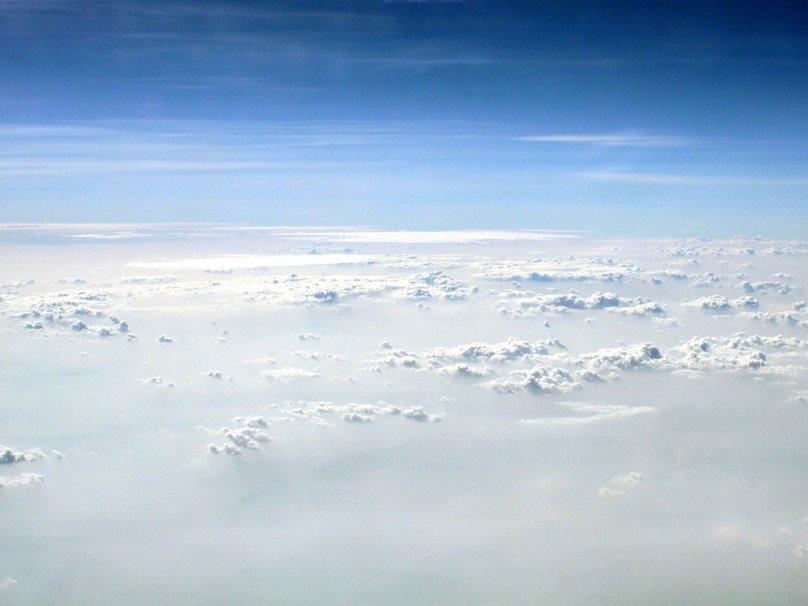 Clouds sky flight wallpaper   ForWallpapercom 808x606