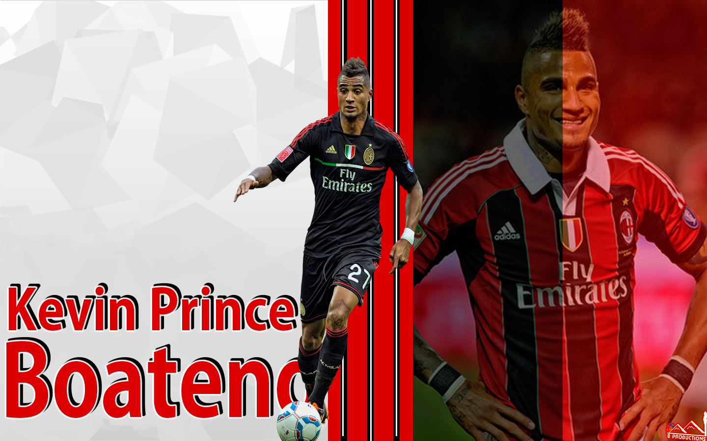 download Kevin Prince Boateng HD Wallpaper WallpaperCowcom 1440x900