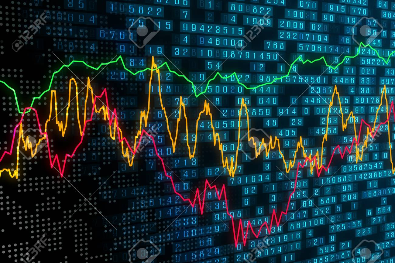 Creative Forex Chart Background Trade Investment And Future 1300x866
