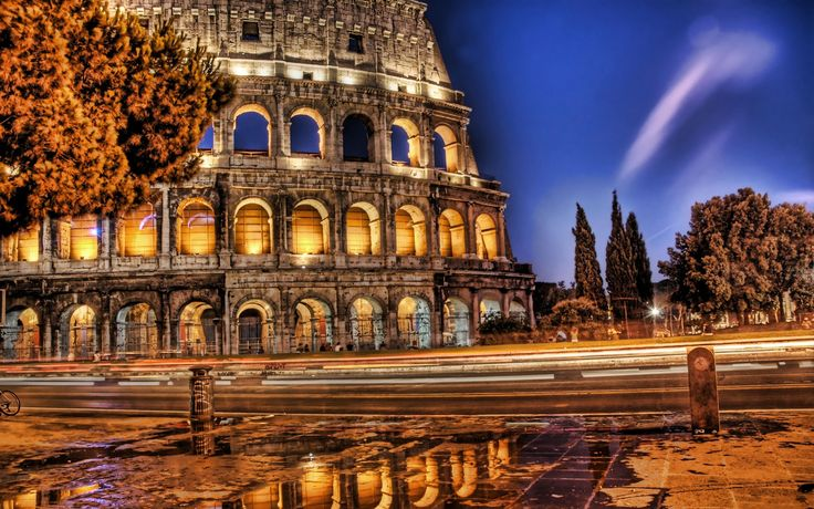 Rome Rome Colosseum desktop wallpaper pictures Rome Colosseum 736x460