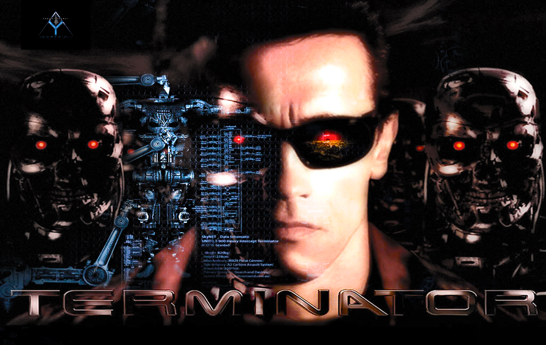 Arnold Terminator Wallpaper and Background Image 1900x1200 ID 1900x1200