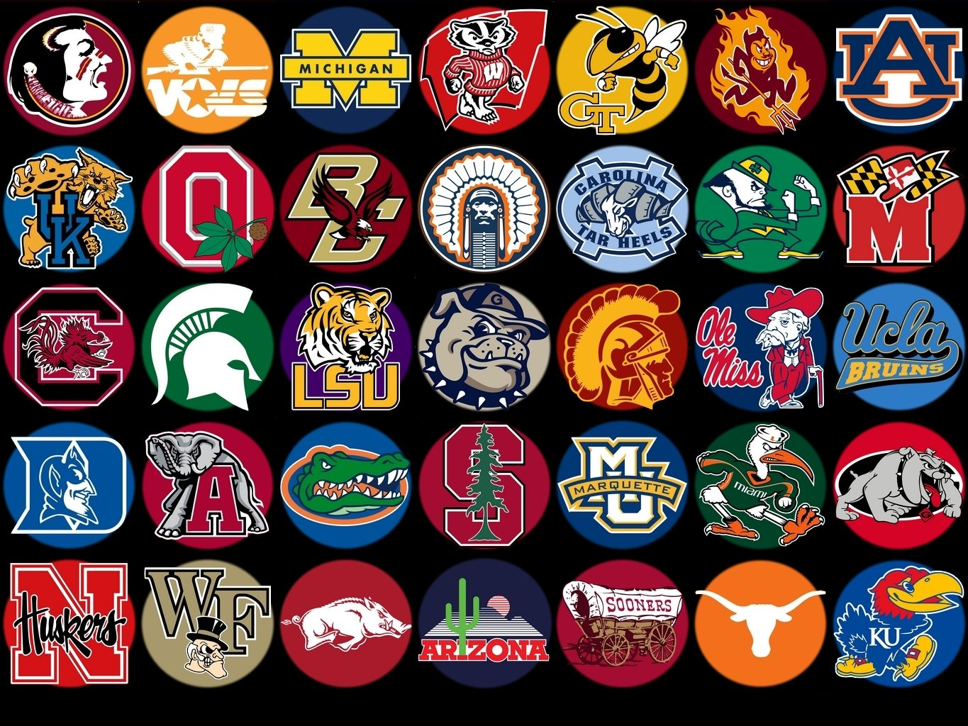 college logo wallpapers wallpapersafari rh wallpapersafari com Cool NCAA Logos NCAA Football Logo