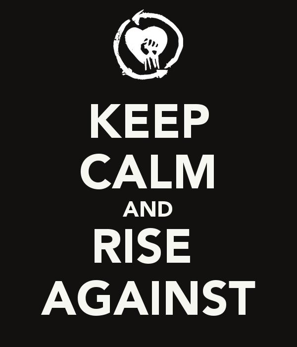 Rise against phone wallpaper