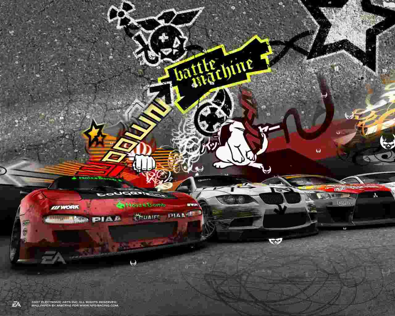 wallpaper   Need for Speed ProStreet   Games   Wallpaper Collection 1280x1024