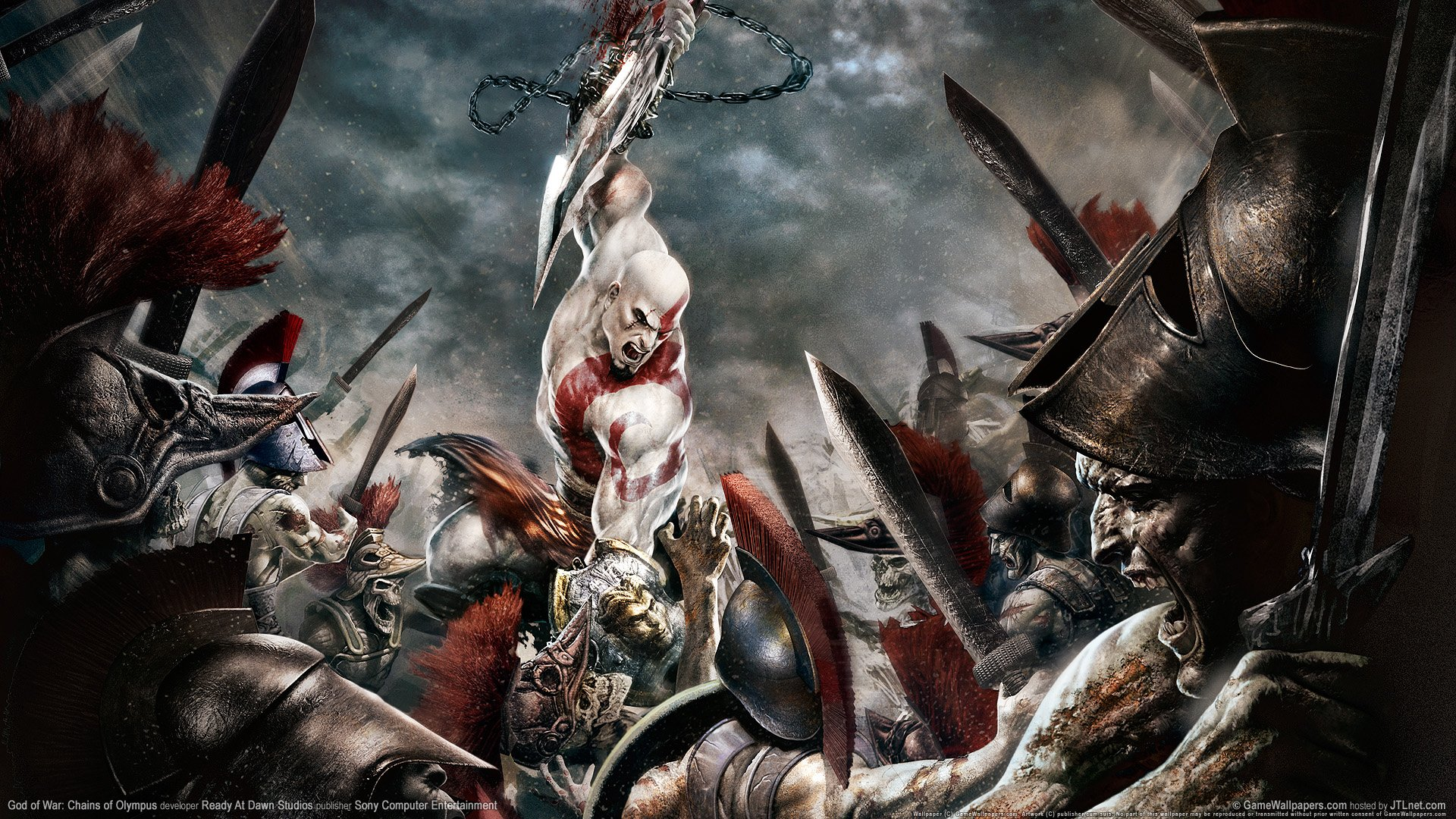 God of War 2 New Game Wallpapers HD Wallpapers 1920x1080