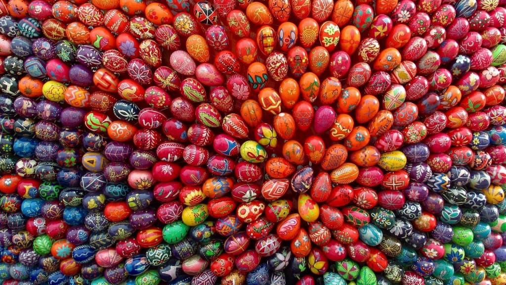 Easter Desktop Wallpaper 1024x576
