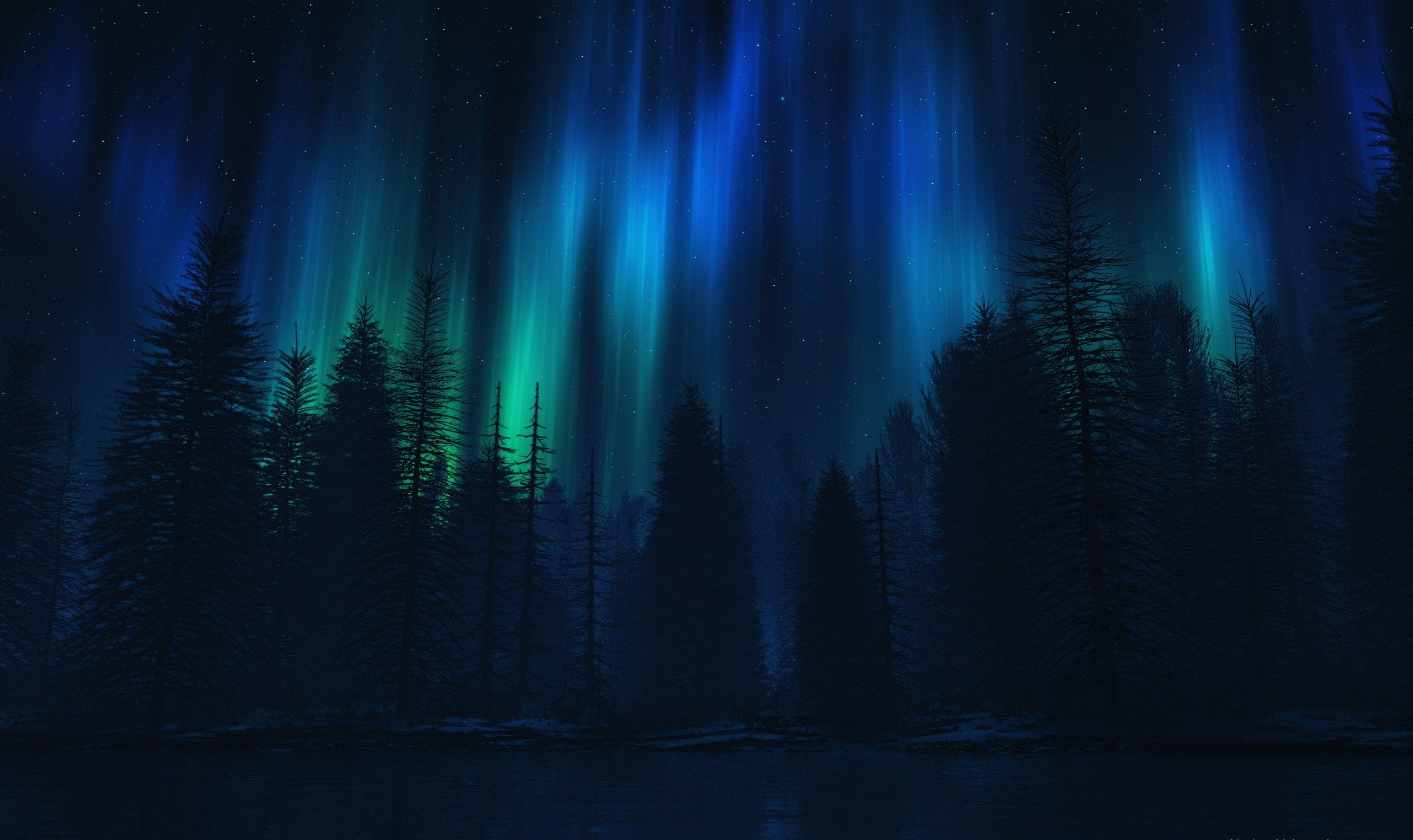 63+ Aurora Borealis Wallpaper Hd on WallpaperSafari