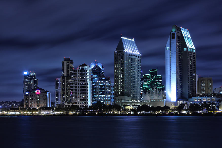 San Diego Skyline Wallpaper Wallpapersafari