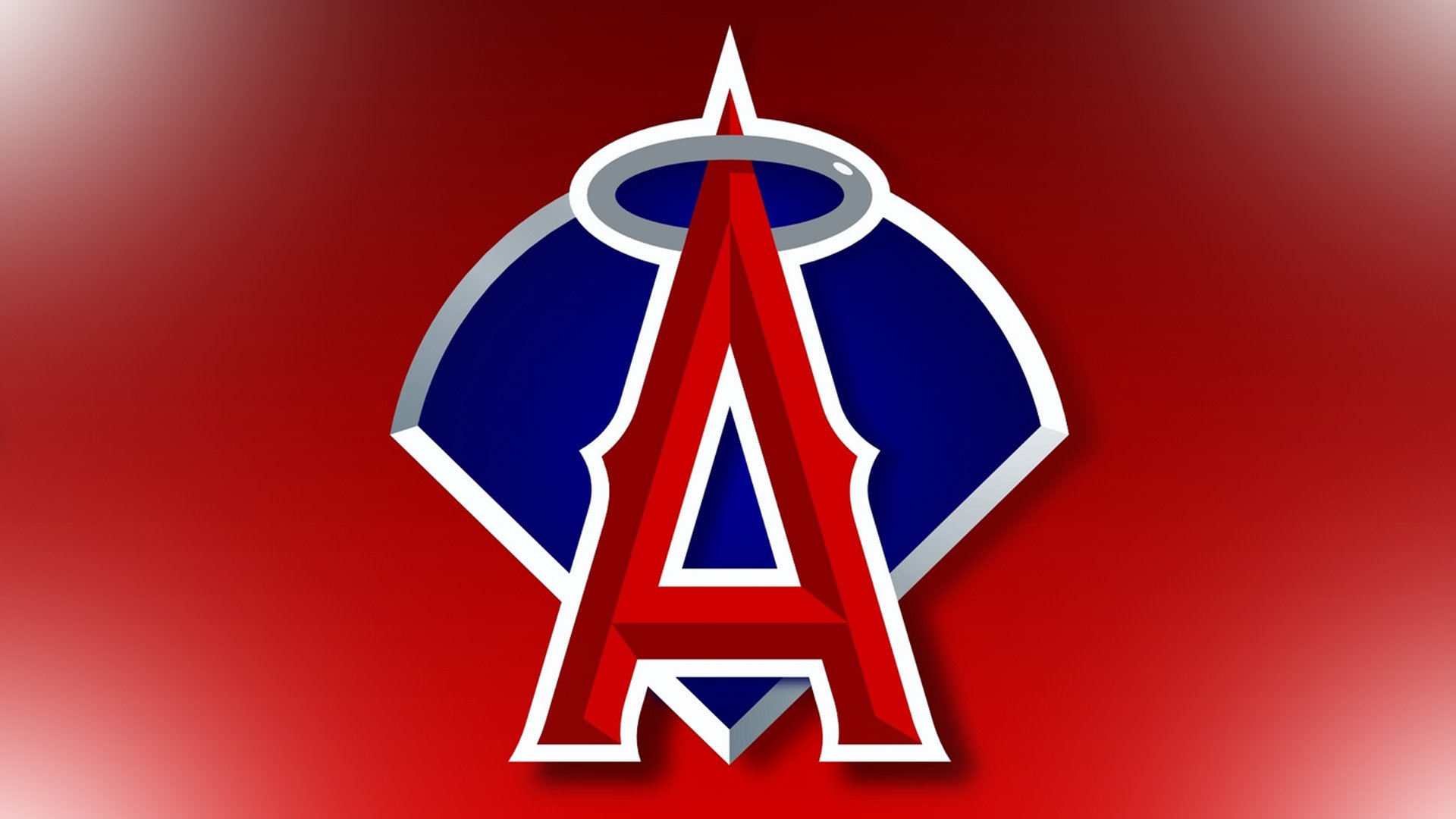Angels baseball logo images Custom Canvas Online - Cheap Canvas Prints Online Photo