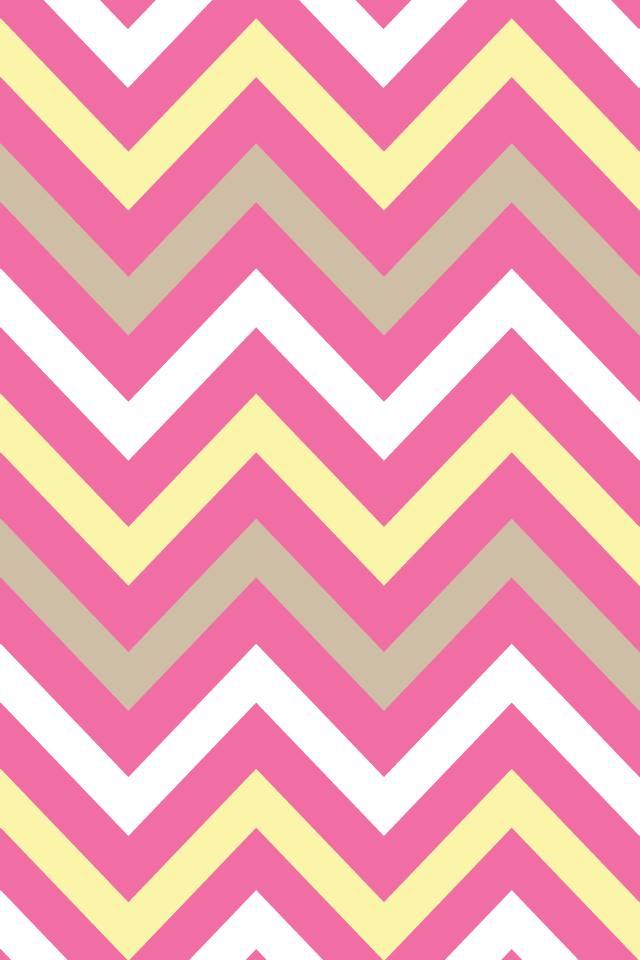 BackgroundsWallpapers ChevronSummery Pink Yellow Sand 640x960