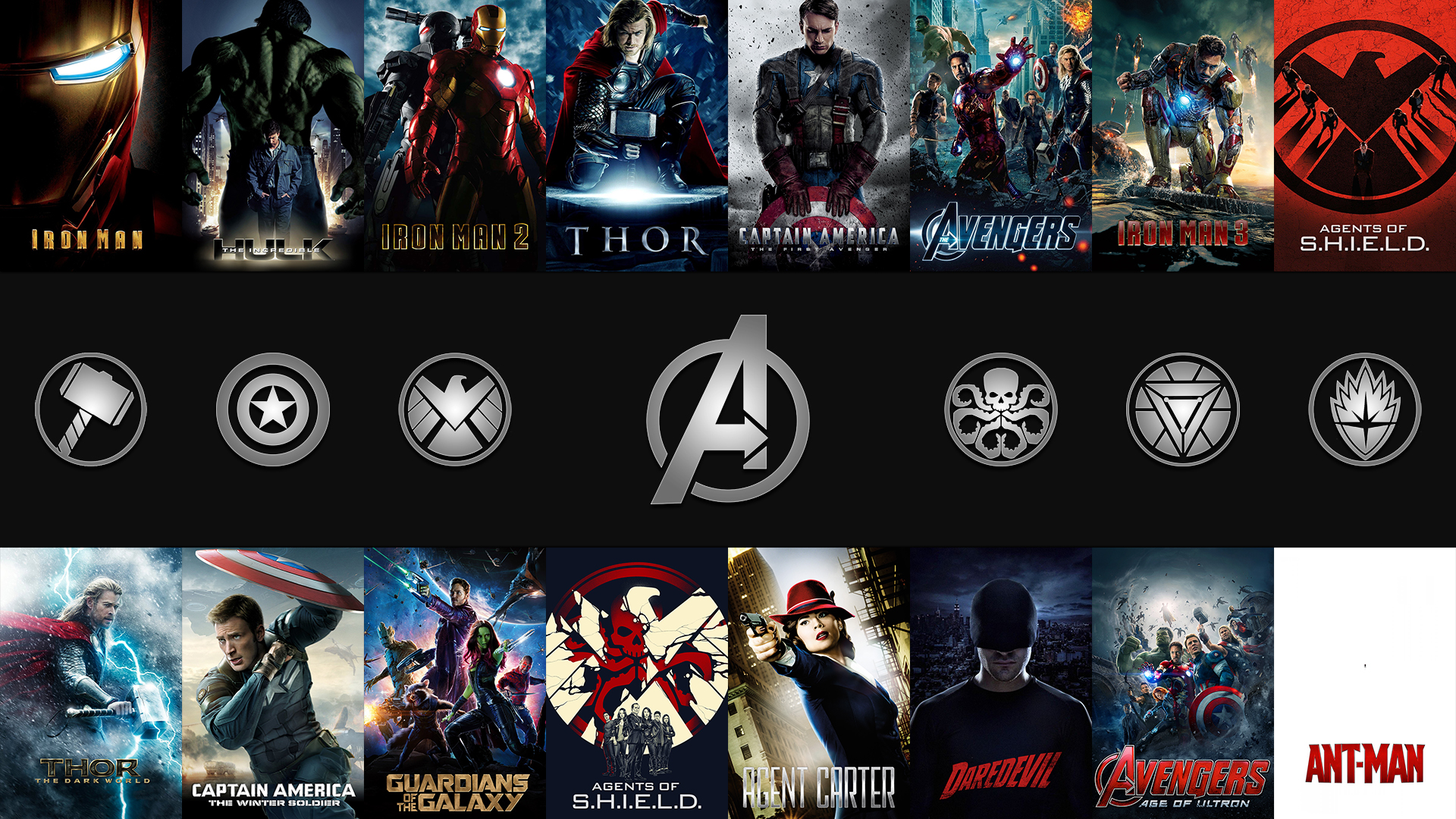 Marvel Cinematic Universe July 2015 Edition by JexXero 1920x1080
