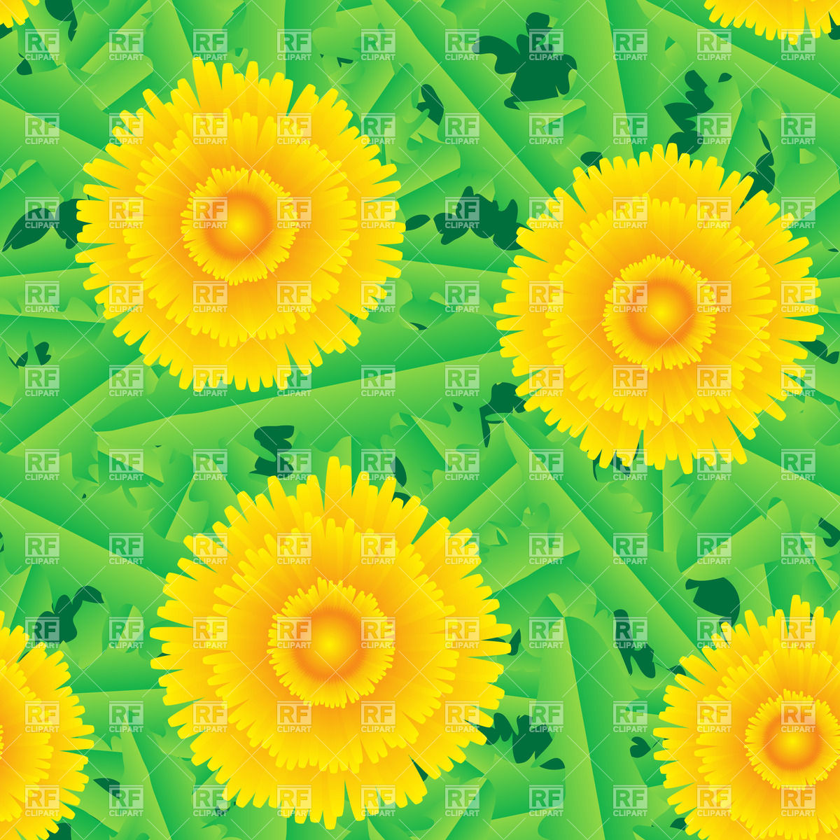 Seamless background with dandelion Backgrounds Textures Abstract 1200x1200